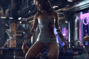 Video Game wallpaper, Cyberpunk 2077
