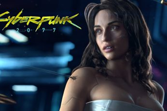 Cyberpunk 2077 wallpaper, video games, game poster, young adult, one person