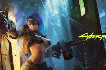 ArtStation, Cyberpunk 2077 wallpaper
