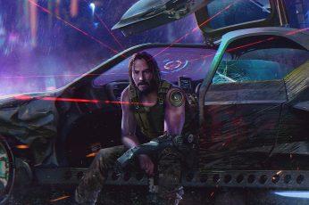 Keanu Reeves wallpaper, Video Game, Cyberpunk 2077