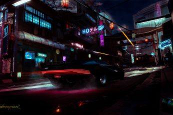 Cyberpunk 2077 wallpaper, video games, cyberpunk, ultrawide, ultra-wide