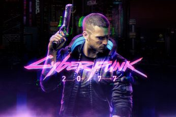 Cyberpunk 2077 wallpaper, video games, video game characters, CD Projekt RED
