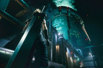 Cloud Strife wallpaper, Midgar, Final Fantasy VII, video games, Final Fantasy VII: Remake