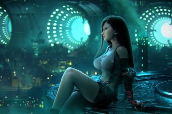 Tifa Lockhart Final Fantasy VII Artwork wallpaper