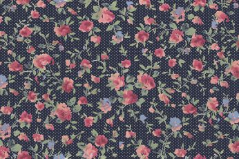 Floral textile wallpaper, pattern, flowers pattern