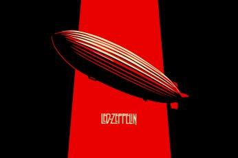 Led Zeppelin wallpaper, music, musician, minimalism