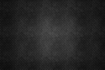 Black textile wallpaper, steel, gray, metal, minimalism, texture