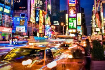 3440×1440 wallpaper city Neon Light street People Glasses HD Art