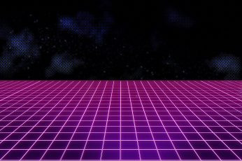 Music Background 80s, Neon, VHS, 80's, Synth, Retrowave, Synthwave