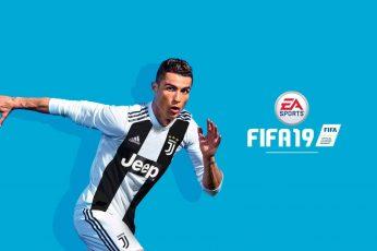 Video Game FIFA 19 wallpaper, Ronaldo