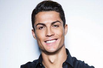Cristiano Ronaldo wallpaper, smiling