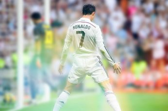 Cristiano Ronaldo wallpaper, Real Madrid, El Clasico