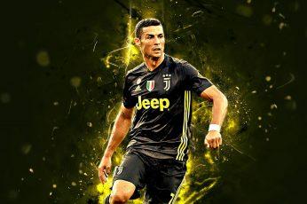 Soccer wallpaper, Cristiano Ronaldo, Juventus F.C.