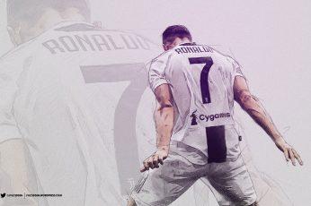 Soccer wallpaper, Cristiano Ronaldo, Juventus F.C., Portuguese