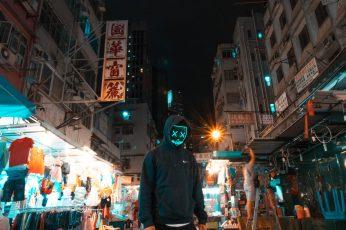 Sweatshirt wallpaper, city, urban, high rise