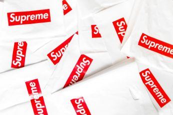 Supreme sticker wallpaper, brand, bag