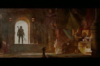 Mandalorian wallpaper, tv series, art