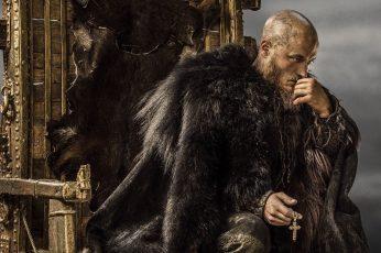 Ragnar wallpaper, Ragnar Lodbrok, Vikings, tv series, Vikings (TV series)