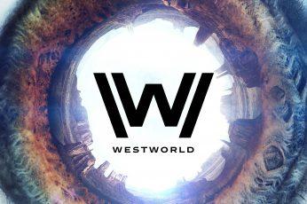 Westworld Season 2 wallpaper, TV Series Logo, 4K,