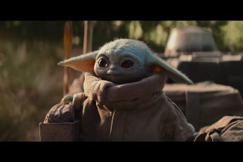 The Mandalorian wallpaper, Star Wars, Yoda, Baby Yoda, tv series