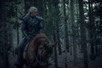 The Witcher wallpaper, Netflix, Netflix TV Series, Henry Cavill, Geralt of Rivia
