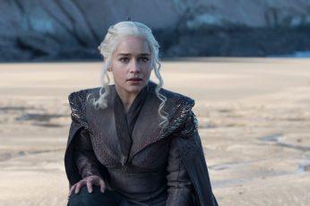 Game of Thrones character wallpaper, TV, series, Daenerys Targaryen, tv series