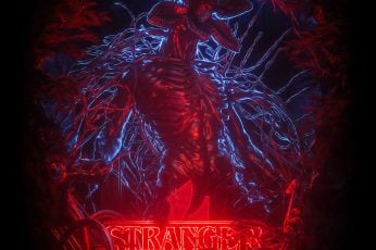 Billelis wallpaper, Stranger Things, artwork, digital, TV, tv series