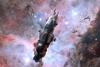 The expanse wallpaper, space, science fiction, tv series, spaceship, Rocinante