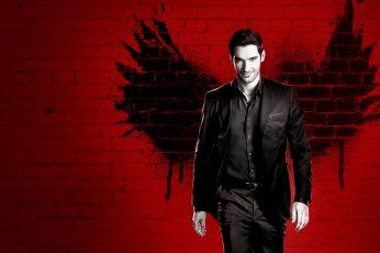 Tom Ellis wallpaper, Lucifer Season 3, TV Series, 4k