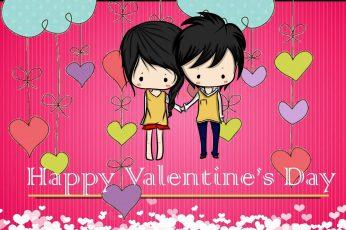 Happy valentine day couple hd wallpaper