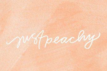 Peach color wallpaper