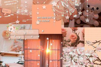Peachy wallpaper desktop