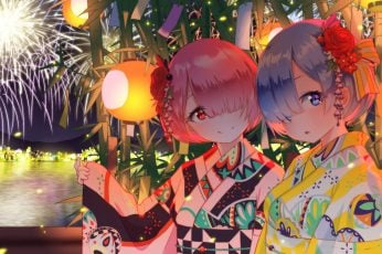 Wallpaper Anime, Anime Girls, Rem, Rem Re Zero, Ram