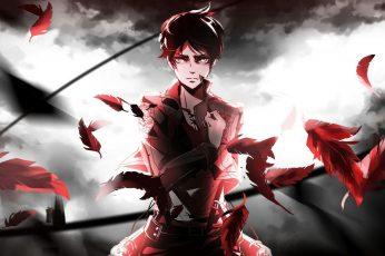 Wallpaper Anime, Attack On Titan, Eren Yeager