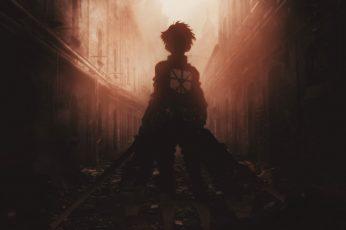 Wallpaper Anime, Attack On Titan, Eren Yeager, Shingeki