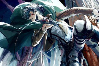 Wallpaper Anime, Attack On Titan, Levi Ackerman