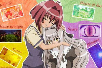Wallpaper Anime, Karin, Chibi Vampire, Karin Anime