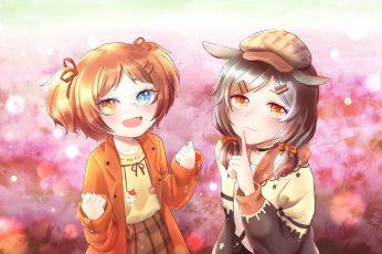 Wallpaper Anime, Original, Chibi, Girl 7016x4961px 5k