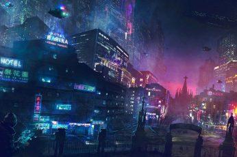 Wallpaper Apocalypse, Fantasy Art, Cityscape, Steampunk