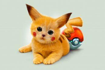 Wallpaper Art Kitty Pokemon Red Eyed Pikachu High Quality