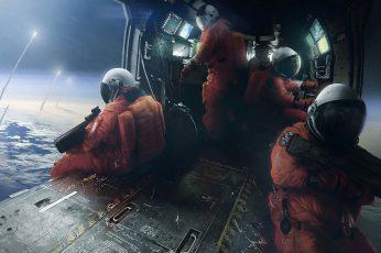 Wallpaper Astronauts Wallpaper, Science Fiction, Space