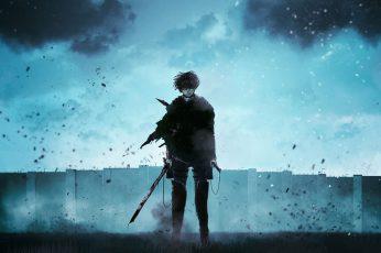 Wallpaper Attack Of Titans Levi Ackerman, Anime