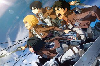Wallpaper Attack Of Titans Wallpaper, Anime, Armin Arlert