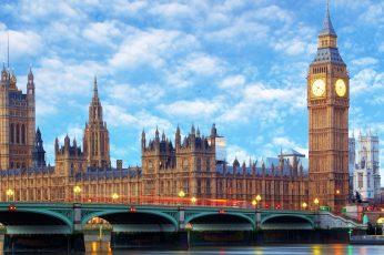 Wallpaper Big Ben, London, City, Bridge, Westminster