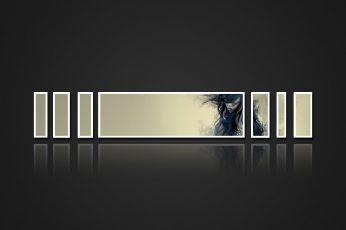 Wallpaper Black And White Wallpaper, Digital Art, Artwork