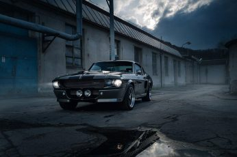 Wallpaper Black Car, Eleanor, Vehicle, Ford Mustang Shelby