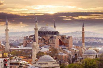 Wallpaper City, Hagia Sophia, Istanbul, Turkey 1920×1080