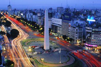 Wallpaper Cityview Of City Wallpaper, Obelisco De Buenos
