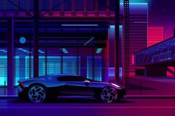 Wallpaper Digital, Digital Art, Artwork, Car, Vehicle