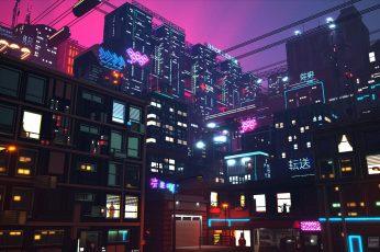 Wallpaper Digital, Digital Art, Artwork, Concept Art, City